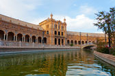 Plaza de Espana, Seville, Spain — Stock Photo