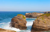 Coast of Portugal, the Atlantic Ocean — Stock Photo