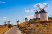 Windmills,Konsuegra, Spain — Stock Photo