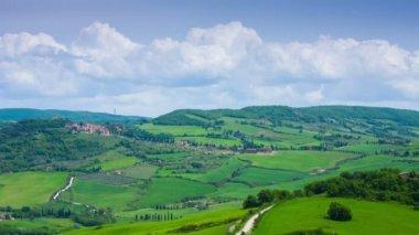 Beautiful panorama of Tuscany — Stock Video