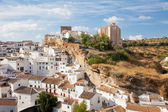 White houses in Setenil de las Bodegas — Stock Photo
