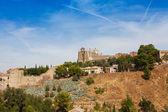 Panoramic view to Toledo, Spain — Stock Photo