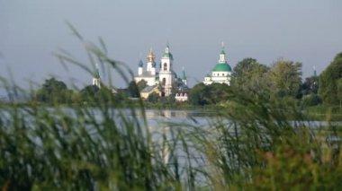 View of Spaso-Yakovlevsky Monastery — Stock Video