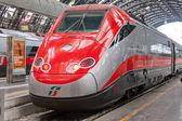 Modern high-speed train — Stock Photo