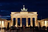 бранденбургские ворота — Стоковое фото