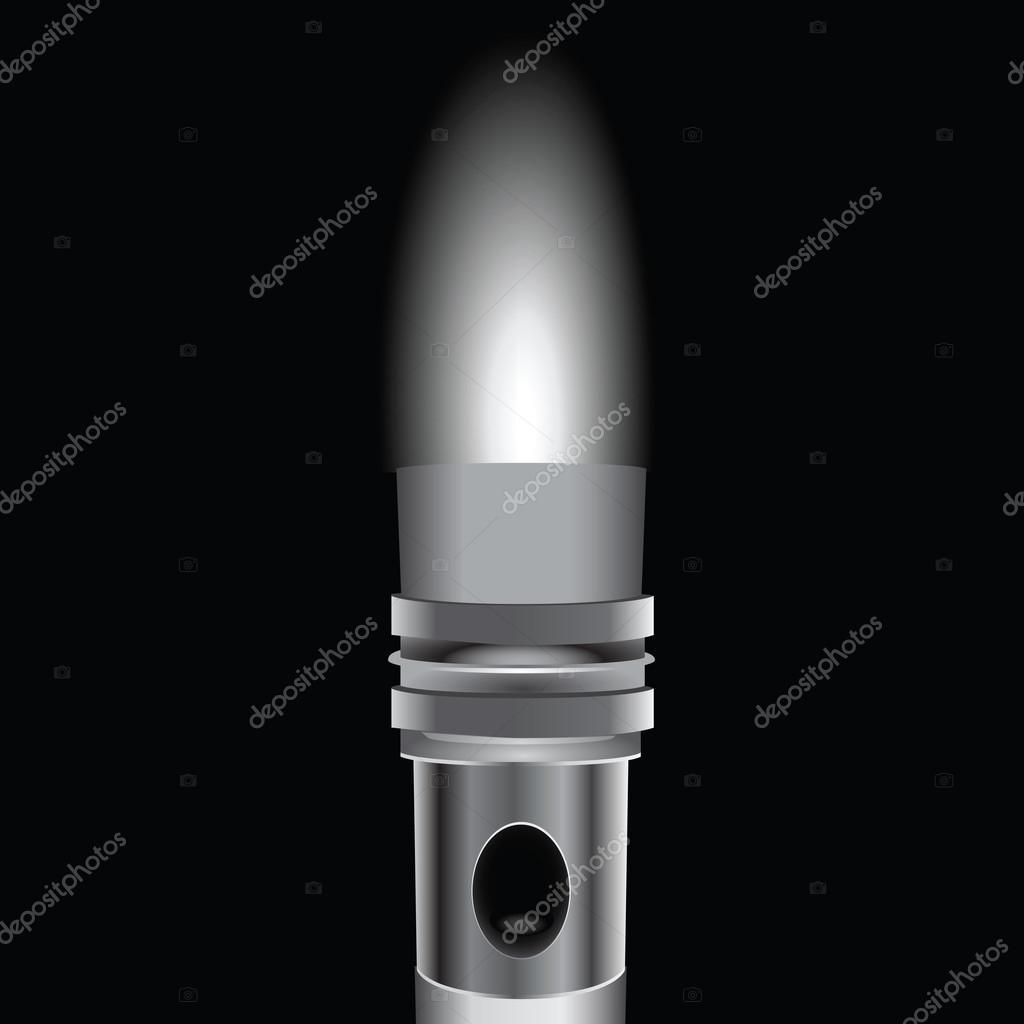 手电筒的光 — 图库矢量图像08