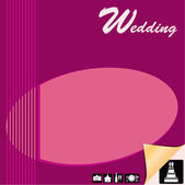 Wedding planner — Stock Vector