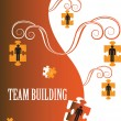Team Building — Vettoriali Stock