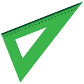 Triangular line — Stock Vector