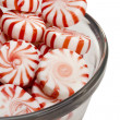 Red Striped Peppermints - Stock Photo