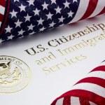 США министерство национальной безопасности логотип — Стоковое фото