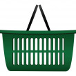 Basket cart — Stock Vector