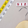 Hanger and Measuring Tape — Stock Photo #13302897