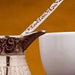 Турецкий кофейник — Стоковое фото