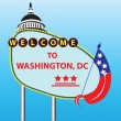 Stock Vector: Welcome to Washington DC