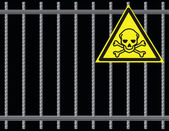 Grate toxic substances — Stockvector