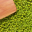 Wooden Board and Peas — Stock Photo #13630298