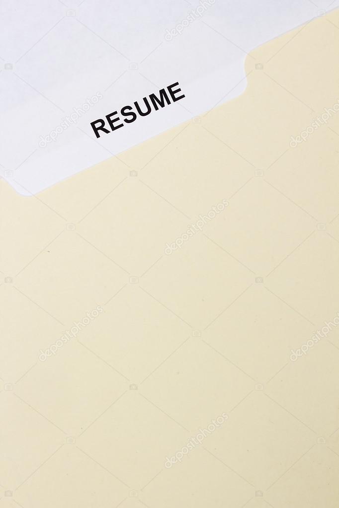 resume title page  u2014 stock photo  u00a9 vipdesignusa  14114535