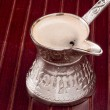 Turkish Coffee Pot — Stock Photo