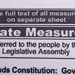 Stock Photo: State measures