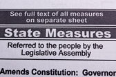 State measures — Stock Photo