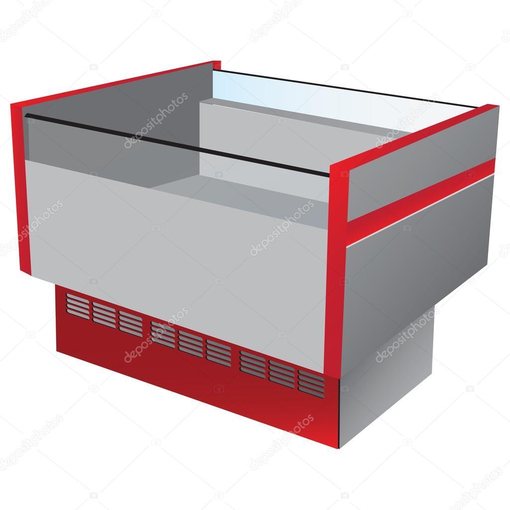 LÃ¥g temperatur kylskÃ¥p — Stock Vektor © VIPDesignUSA #14722365