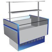 Low temperature refrigerator — Stock Vector