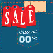 Sale from Discount — Stock Vector