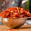 Crushed Red Peppers — Stock Photo