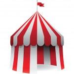 Circus tent — Stock Vector #17701785