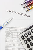 Grant Application — Stock Photo