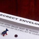 Secrecy envelope — Stock Photo