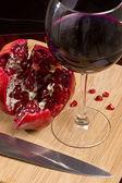вино из граната — Стоковое фото