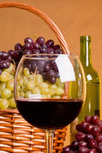 Glass of wine — Stock Photo