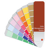 Color management system — Stock Vector