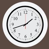 Clock face — Cтоковый вектор