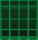 Lockers set — Stock Vector