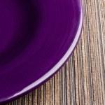 Фиолетовый плита — Стоковое фото