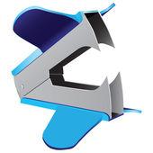 Staple Remover — Stock Vector