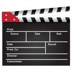 ������, ������: Film clapperboard