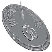 Hinduism symbol — Stock Vector