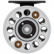 Fly fishing reel — Vector de stock #24604163