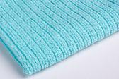Blue terry towel — Stock Photo