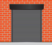 Garage doors — Stock Vector
