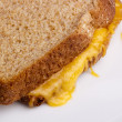 Stock Photo: Sandwich with melted cheese
