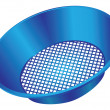 Royalty-Free Stock Vector Image: Plastic sieve
