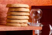Cookies from dough — Stockfoto