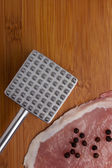 Hammer for meat — 图库照片