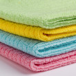 Stock Photo: Terry towels