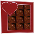 chocolates en una caja — Vector de stock  #28333443